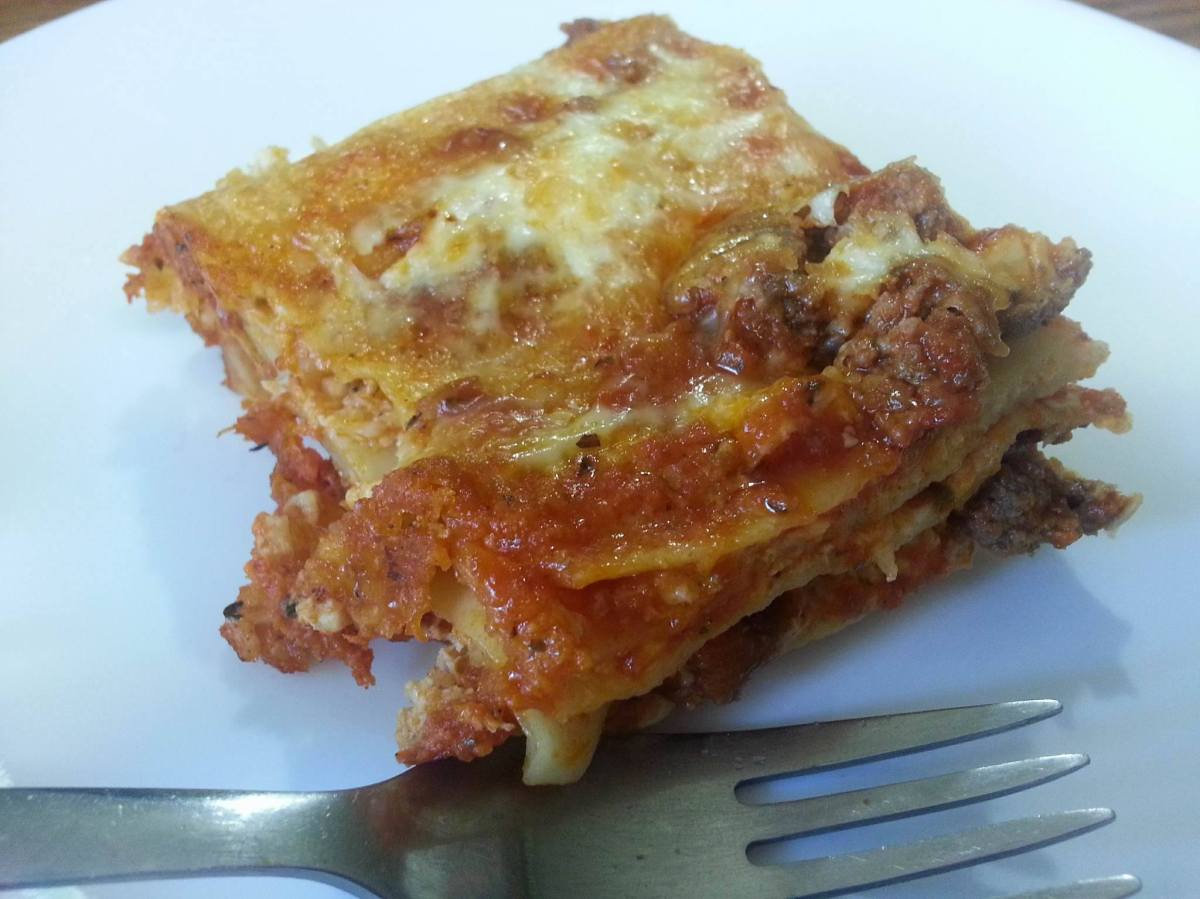 Cheap Lasagna (but good! I promise!) – Lost and Farm