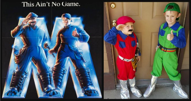 Diy Super Mario Bros Movie Costumes Lost And Farm