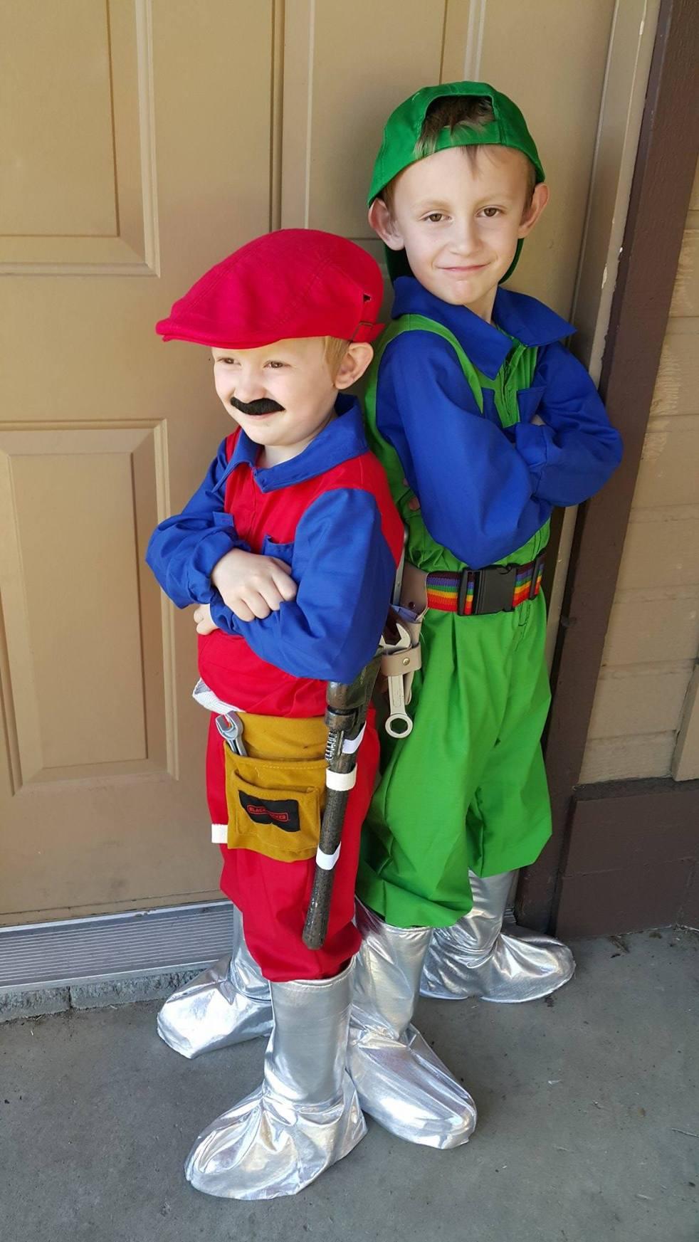 diy super mario bros. movie costumes – lost and farm